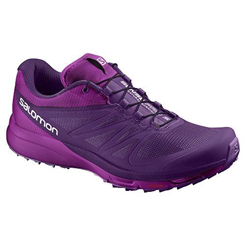 Salomon L38158000, Zapatillas de Trail Running para Mujer Morado (Cosmic Purple /     Cosmic Purple /     Azalee)
