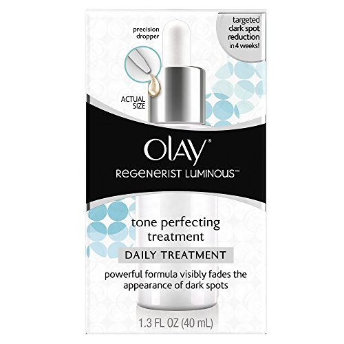 Face Moisturizer by Olay Regenerist Luminous Tone Perfecting Treatment, 1.3 Fl Oz