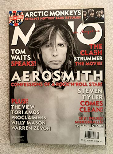(Steven Tyler - Aerosmith - Confessions of a Rock & Roll Star! - Mojo Magazine - Issue #162 - May 2007 - The True Story of Saturday Night Fever, Arctic Monkeys articles )