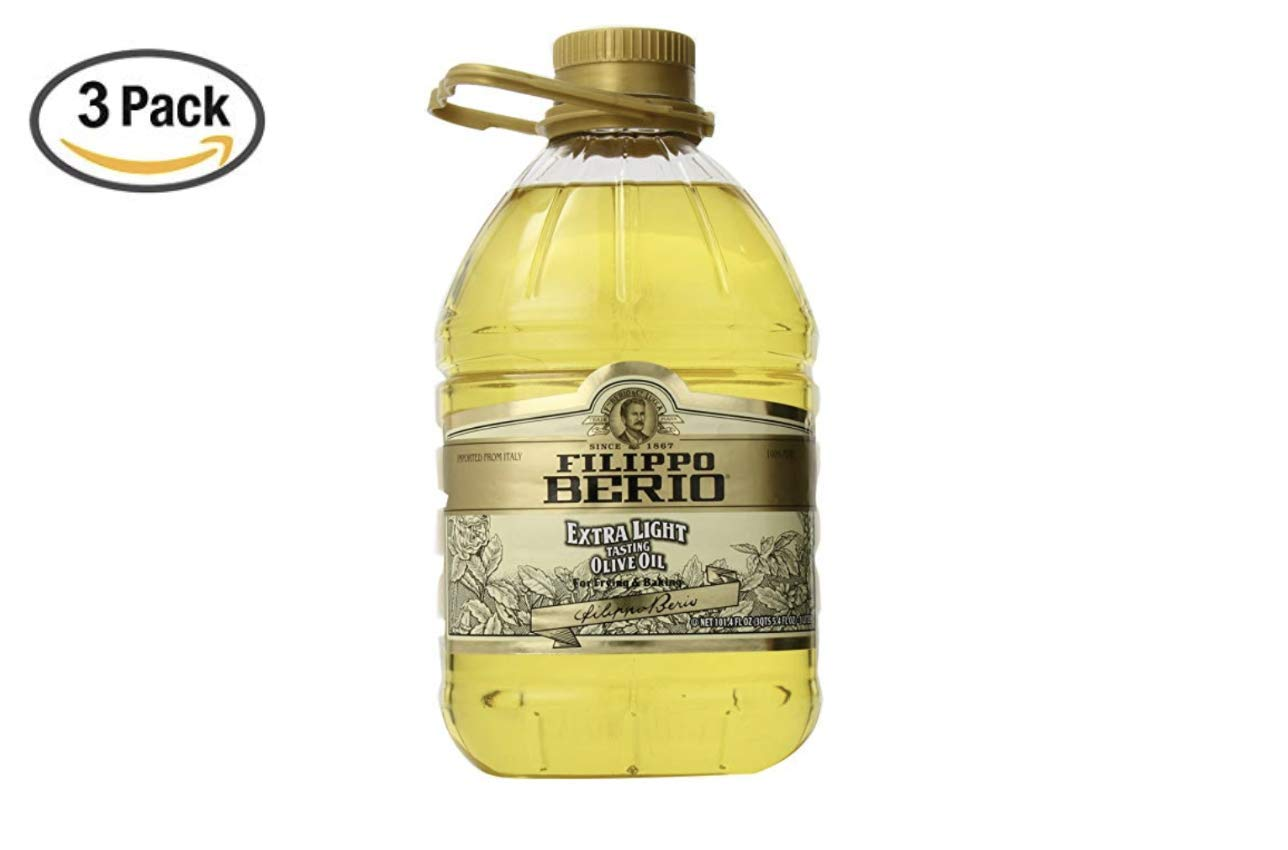 Filippo Berio Extra Light Olive Oil, 101.4 Fluid Ounce (3 Pack) by Filippo Berio (Image #1)