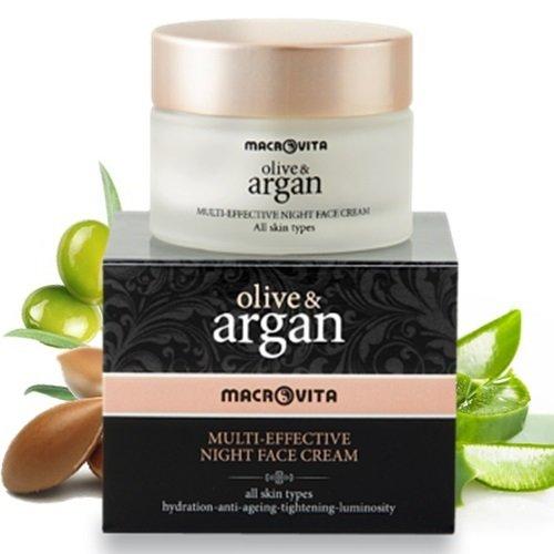 Macrovita Multi Effective ΝIght Cream with Olive & Argan ()