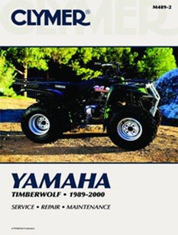 Clymer Repair Manual for Yamaha ATV Timberwolf YFB250 89-00