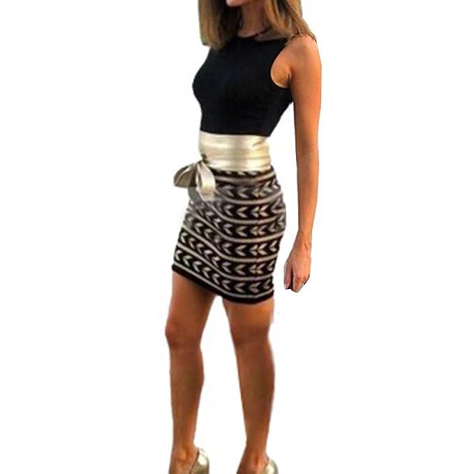 Druken Minikleid O Kleider Patchwork Sexy Langarm Ausschnitt Damen tCrdQBsoxh