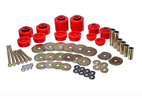 Energy Suspension 4.4123R BODY MOUNT BUSHING SET ()
