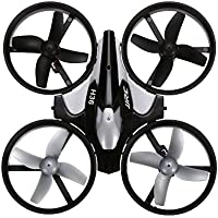 Kids 2.4GHz RC Hexacopter 4CH 6 Axis Gyro Mini RC Drone Quadcopter With Headless Mode / Speed Switch Toy Gray