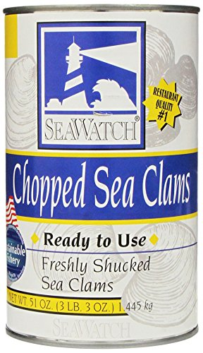 Seawatch Chopped Sea Clams Ready to Use 51oz.Can