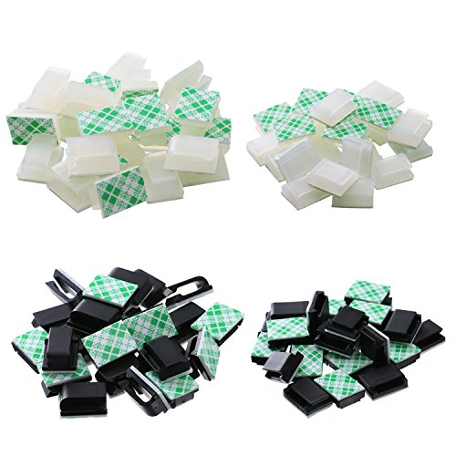 Outdoor Adhesive Christmas Light Clips - 8