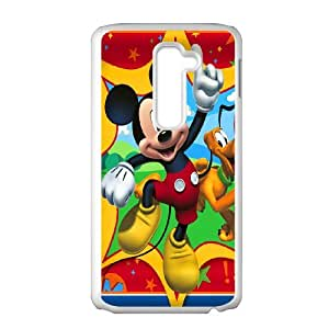 Mickey Mouse for LG G2 Cell Phone Case & Custom Phone Case Cover R35A652458