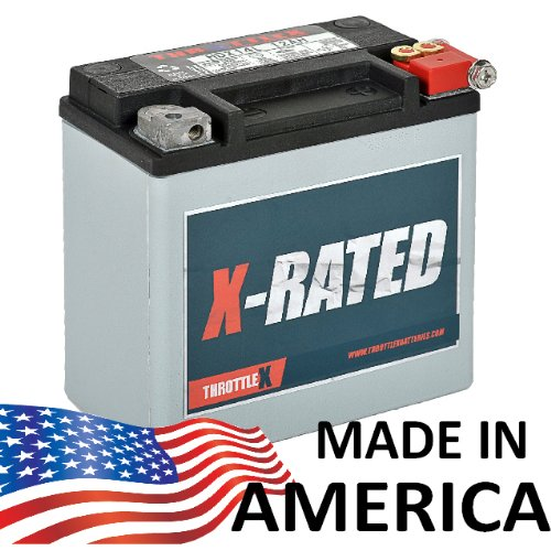 Harley Motorcycle Battery - HDX14L - Harley Davidson Replacement Motorcycle Battery