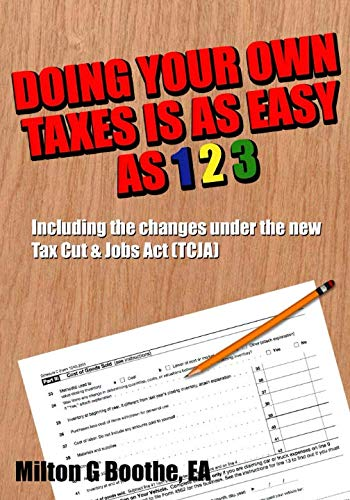 Doing Your Own Taxes is as Easy as 1, 2, 3. (Doing Your Own Accounting For Your Business)