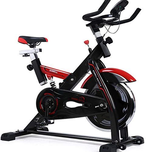 JSYFZ Bicicletas estáticas para Personas Mayores, Bicicleta Vertical magnética Plegable Air Bike Máquina de Ejercicios con Pantalla LCD Pulso cardí