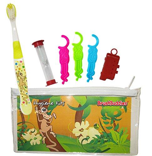 Brush Buddies 43272-144 Kids Hygiene Toothbrush Kit (Pack of 144) by Brush Buddies
