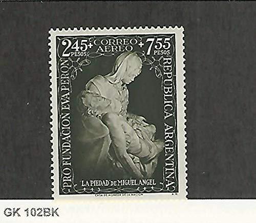 Argentina, Postage Stamp, CB6 Mint NH, 1951 Easter, JFZ ()