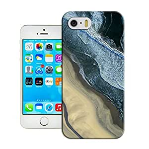 LarryToliver Protective Plastic Cover Shell for Customizable Seaside landscape Skin Protector Case with iphone 5/5s wangjiang maoyi