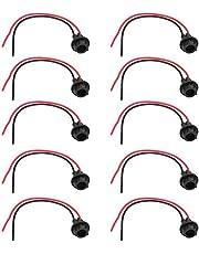 10Pcs T10 Lamp Light Bulb Socket Holder Connector Extension Car Motorcycle LED Wedge Light Base Adapter