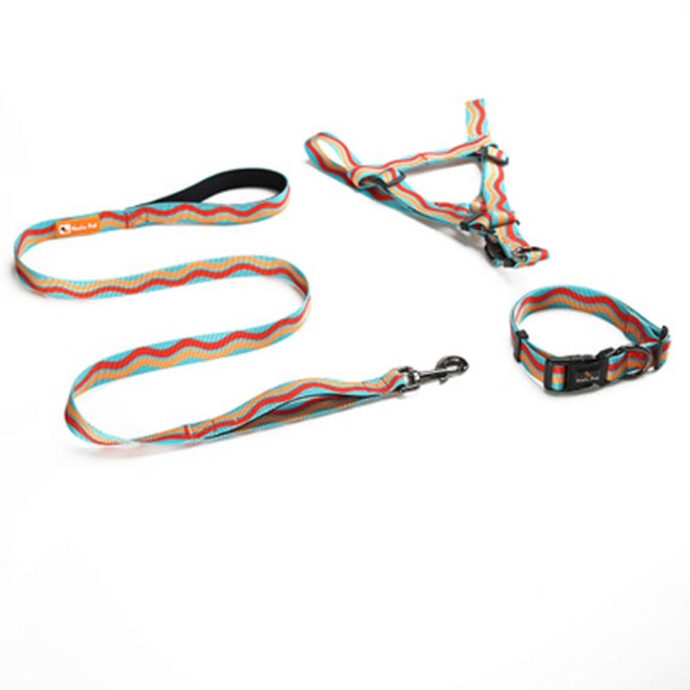 A S A S ZCYX Pet Leash Rope Elastic Rope Fun Pet Chest Back Collar Large Dog Supplies Retractable Dogpet Rope (Size   S, Style   A)