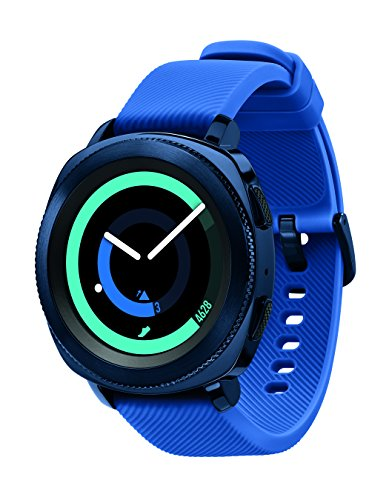 Click to buy Samsung Gear Sport Smartwatch, Blue (SM-R600NZBAXAR) - From only $199.2