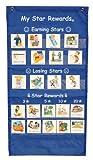 my star chart - My Star Rewards® Pocket Chart Set - Blue