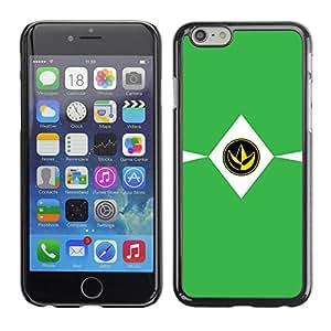 Stuss Case / Funda Carcasa protectora - SIGN MINIMALISTA VERDE - Apple Iphone 6 Plus 5.5