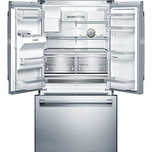 Bosch B26FT50SNS 36 French Refrigerator with 25 ft. Total Capacity, Stainless Steel