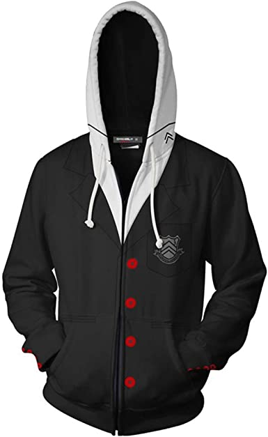 Anime Persona5 Joker P5 Leisure Coat Unisex Hoodie Sweater Cosplay S-3XL Tops