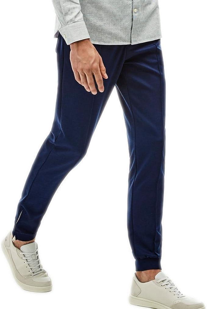Lacoste Pantalones Live1 Azul Talla: 34 US   44 EU: Amazon.es ...