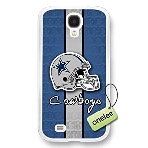 NFL Dallas Cowboys Team Logo Samsung Galaxy S4 Transparent Hard Plastic Case Cover - Transparent