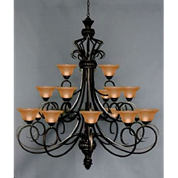 6ft wrought iron chandelier large foyer entryway lighting country 6ft wrought iron chandelier large foyer entryway lighting country french 3 tiers 21 lights ht72 mozeypictures Choice Image