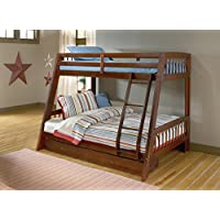 Hillsdale 1608BB Rockdale Bunk Bed, Twin over Full, Cherry