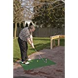 JEF World of Golf JR608 Gifts and Gallery Incorporated Practice Mat (Green, 3 by 4-Feet)