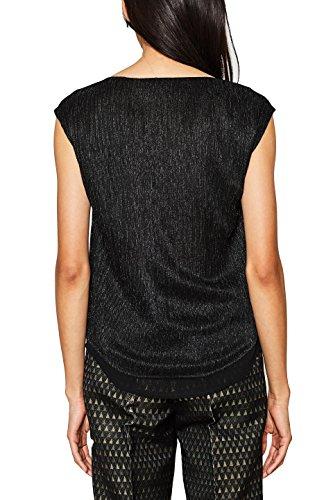 001 Esprit Collection black 117eo1f012 Donna Camicetta Nero w6pnxYq6A