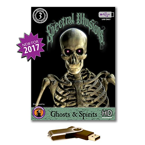 Spectral Illusions Ghosts & Spirits Virtual Reality Compilation Video on USB -