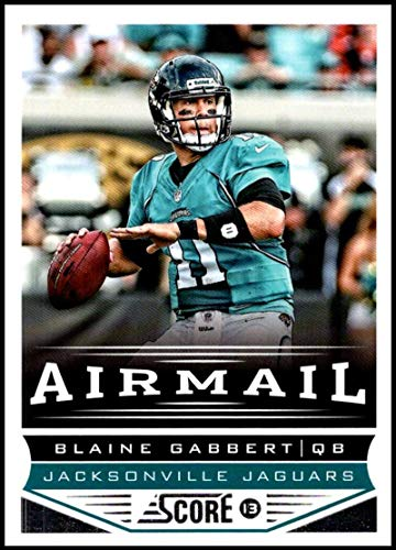 2013 Panini Score Air Mail #235 Blaine Gabbert NM-MT Jacksonville Jaguars Official NFL Football Card
