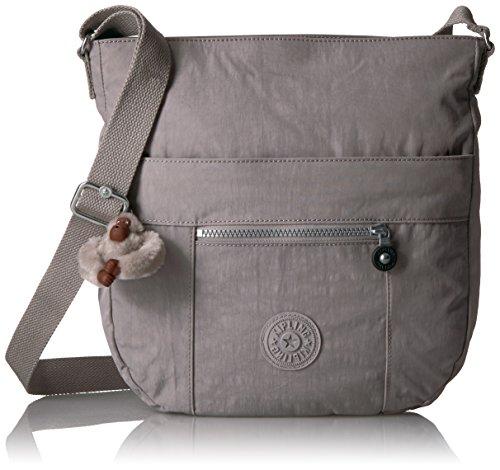 Kipling Bailey Solid Hobo Crossbody Bag, Slate Grey by Kipling