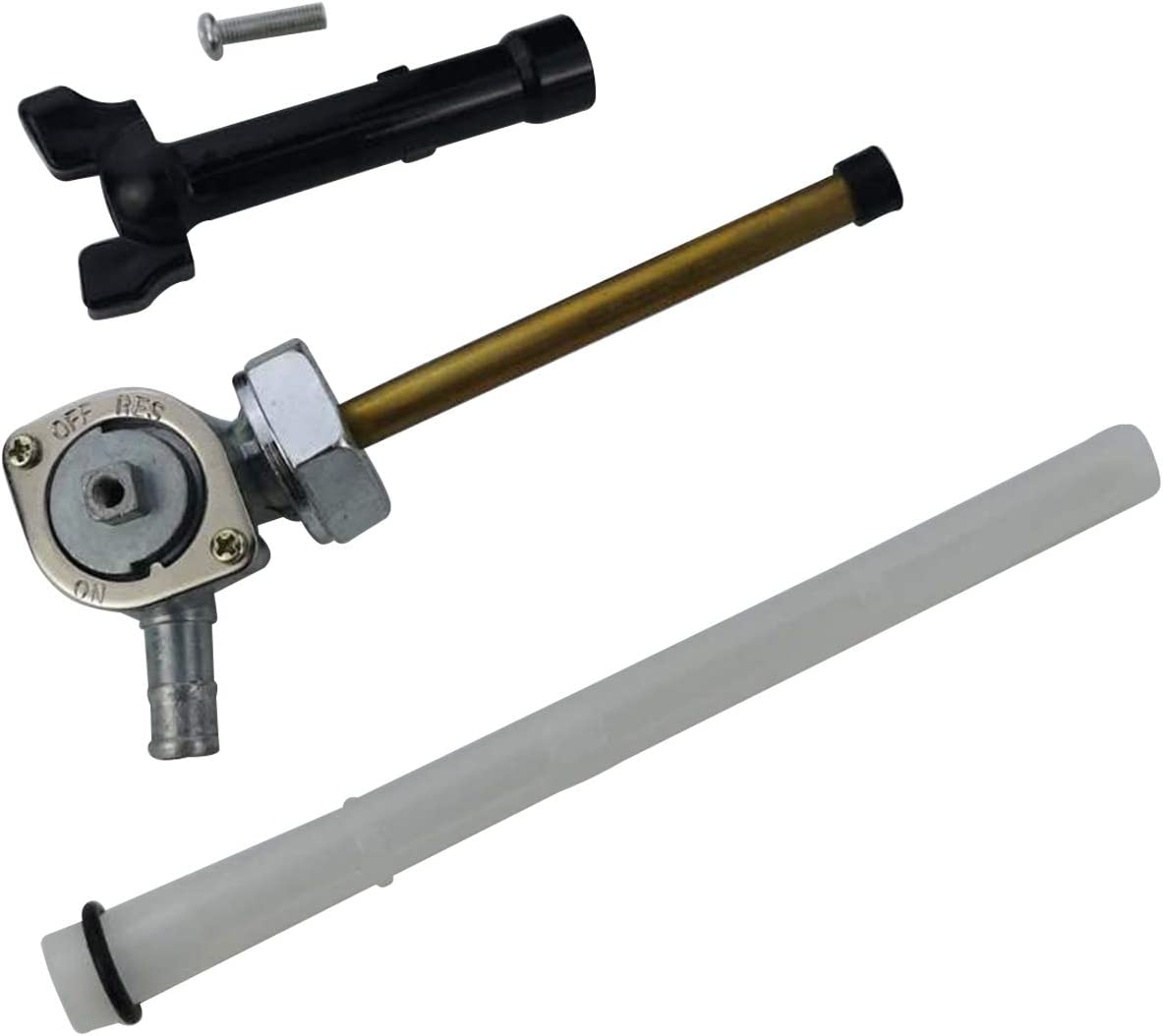 M MATI Fuel Cock Petcock Assy /& Lever for Honda Motorcycle VT600 1999-2007 SHADOW VLX DELUXE 16950-MZ8-L23