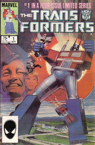 (The Transformers, Vol 1 #1 (Comic Book) #1 IN A FOUR-ISSUE LIMITED SERIES)