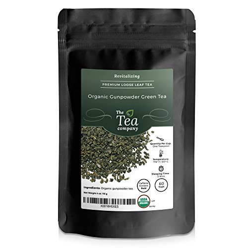 Organic Gunpowder Tea Leaves Company product image