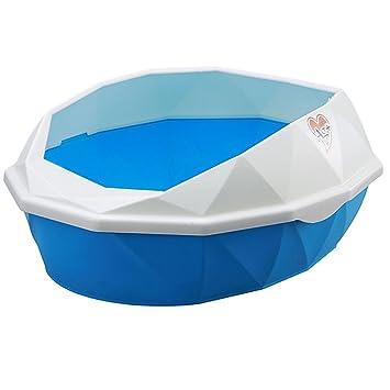 Caja de Arena para Gatos, Legendog Kitty Box Surtido Color Plástico Cajuela Desmontable para Mini Arena Bon Cuchara: Amazon.es: Productos para mascotas