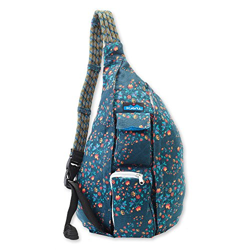 KAVU Women's Rope Bag Outdoor Backpacks, One Size, Wild Popp