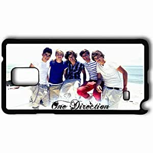 Personalized Samsung Note 4 Cell phone Case/Cover Skin 2013 One Direction Celebrities Black