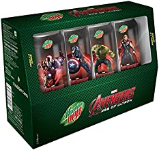 Mountain Dew Avengers Combo Pack, 4x250ml (Collector's Edition)