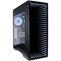 CUK Continuum Gamer PC (Intel Quad Core i5-8400, 16GB RAM, 250GB NVMe SSD + 1TB, NVIDIA GeForce GTX 1060 3GB, 450W PSU, AC Wifi, Windows 10) Gaming Desktop Computer