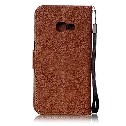 iPhone 6 Plus / 6S Plus Coque Portefeuille , Leiai Mode Cuir PU + silicone doux Housse Gel Etui Portefeuille Case Bummper Cover Imperméable pour Apple iPhone 6 Plus / 6S Plus Marron