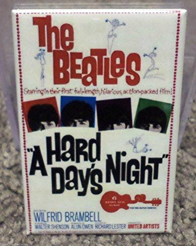 Beatles A Hard Days Night Movie Poster 2 x 3 Refrigerator Locker MAGNET