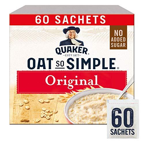 "Quaker – Haver ""Oats So Simple"" Original magnetronveilig 27 g zak X 60 stuks"