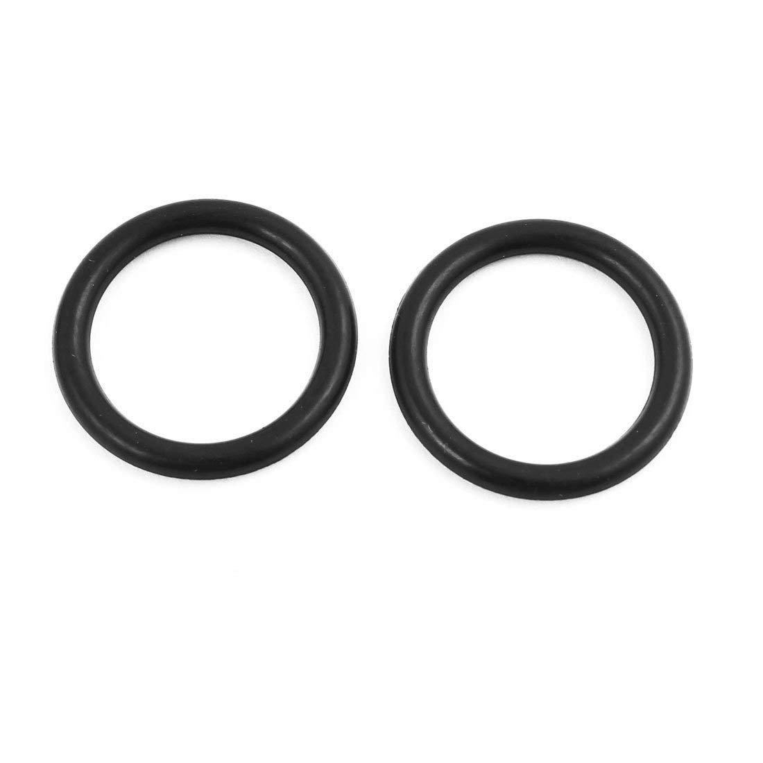 30pcs 25mmx3.1mm r/ésistant huile /étanch/éit/é joint torique forme NBR gomme trou