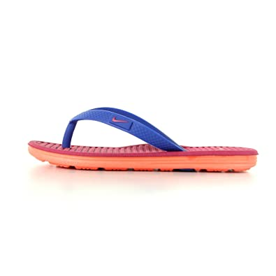 b1475eec8 NIKE Boys  Solarsoft thong 2 Thong Sandals Purple Violet
