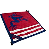 Frogger Golf Wet and Dry Amphibian Towel - Patriot Red/White/Blue