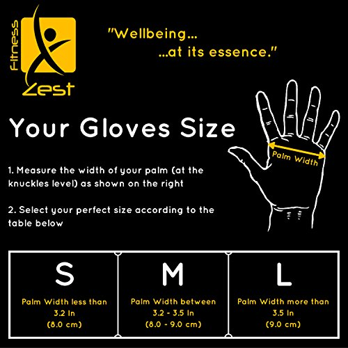 Premium Quality Cross Training Ventilated Anti-Sweat Gloves with Superior Wrist Support & Incredible Grip ✮ Ideal for Fitness, WOD, Weightlifting, Crossfit, Gym Workout, Pullups & Powerlifting ✮ Maximum Comfort ✮ Padding to Avoid Calluses ✮ Reinforced Palm for Extended Durability ✮ Suits both Men & Women
