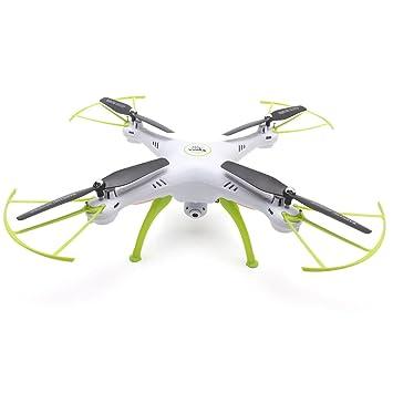 Syma X5HC RC Drone Quadcopter 2,4 GHz de 4 Canales de 6 Ejes con 2 ...